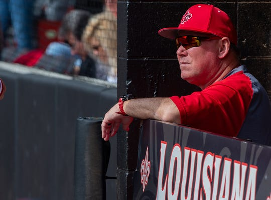 Tony Robichaux took Louisiana-Lafayette to a College World Series appearance in 2000.