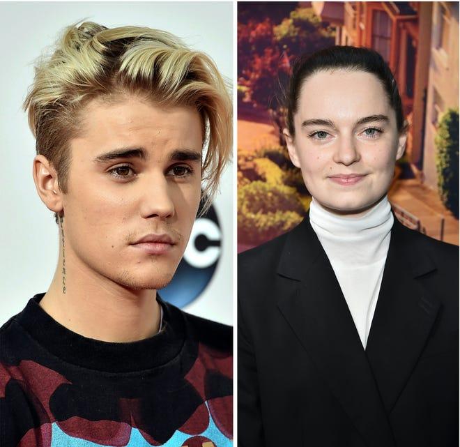 Justin Bieber and Emma Portner