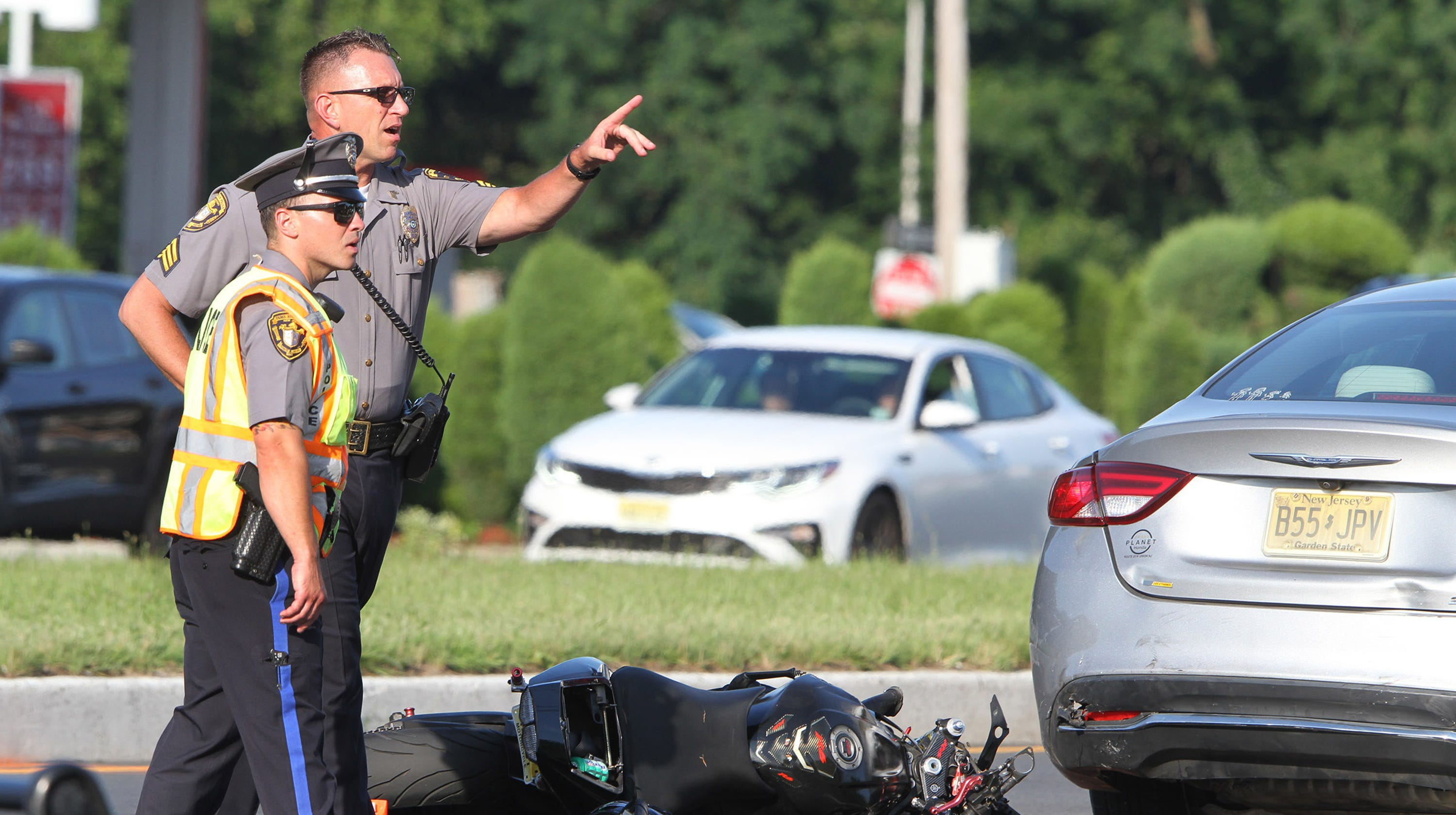 Kearny man dies in Toms River motorcycle crash on Route 37 East