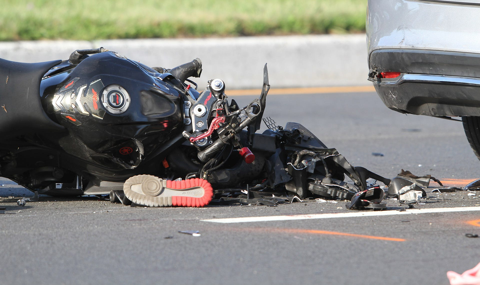 Toms River motorcycle crash on Route 37 East