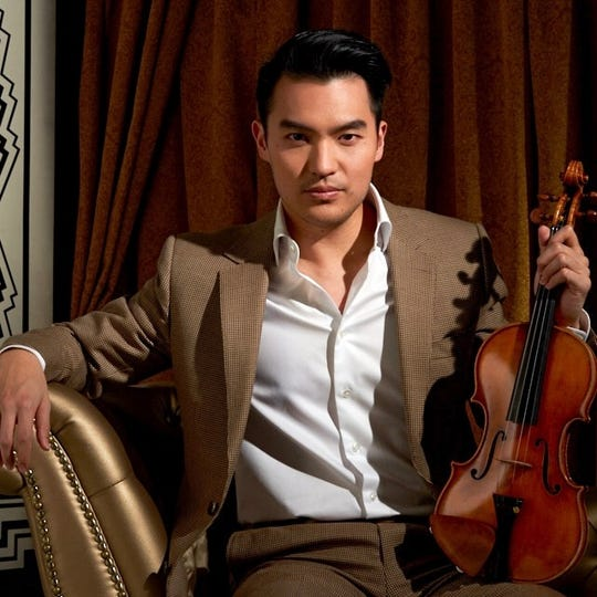 Ray Chen is one of several repeat performers on this year's OMF roster.