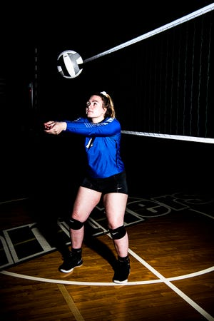 Southeastern senior Skyler Hice, who was the SVC and the District 14 Player of the year in 2018, looks to build on her success in the upcoming volleyball season.