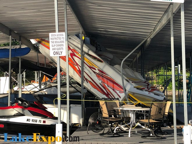 An Iowa man was seriously injured after crashing his boat into a Lake of the Ozarks dock.
