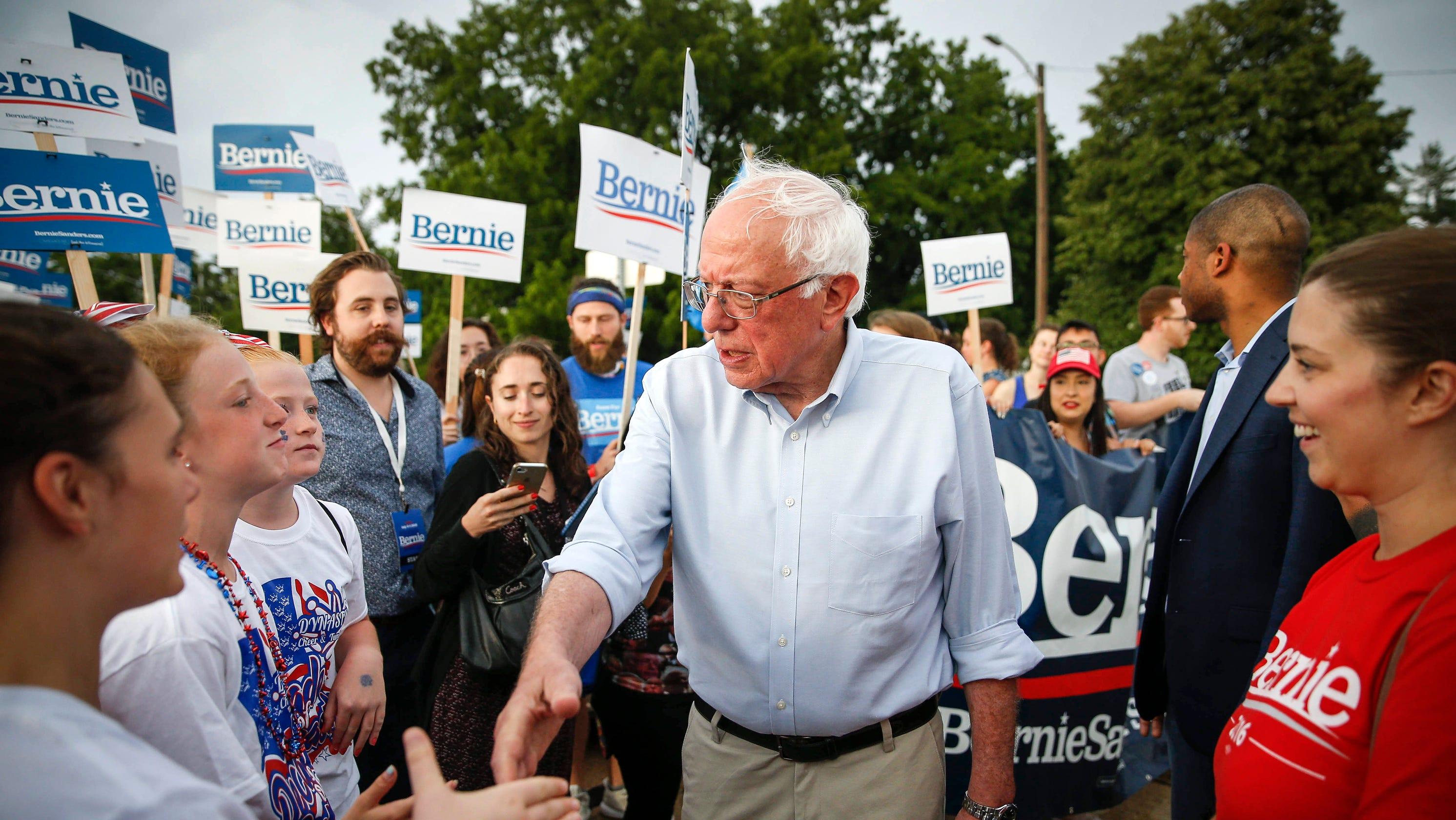Bernie Sanders responds to complaints staff don't earn $15