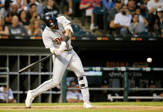 A trade of Nicholas Castellanos this month won't likely help the Tigers' anemic offense.