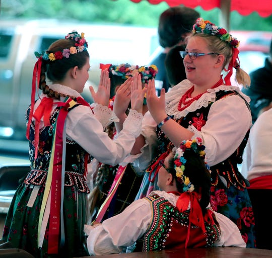 Polish dance groups will be performing throughout the weekend  during the American Polish Festival.