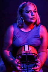 """Lily Belle Czartorski has the starring role in the Ringwald's staging of """"Debbie Does Dallas: The Musical."""""""