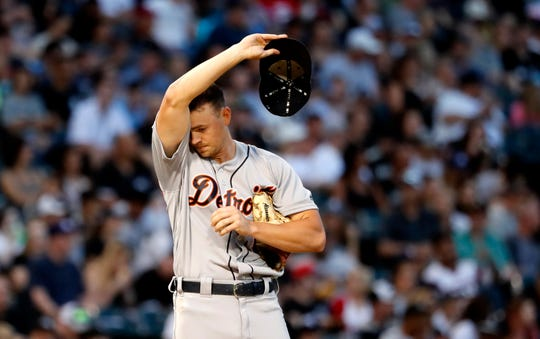 Tyler Alexander pitched solidly on Wednesday night, but it was to no avail in the Tigers' 9-6 loss in 12 innings.