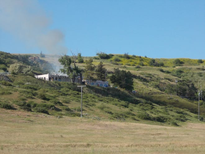 House fire off McIver Road Thursday morning