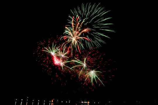 Sugar Mill Pond's annual Independence Day celebration, Fireworks at the Pond, featured many events including skydivers and fireworks.