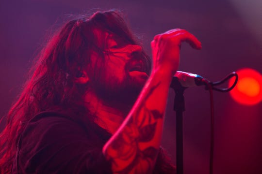 Taking Back Sunday performs at the Miller Lite Oasis on July 3, 2019. Hannah Schroeder/ Milwaukee Journal Sentinel