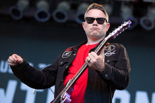 Hawthorne Heights performs at Summerfest's Miller Lite Oasis on July 3, 2019.
