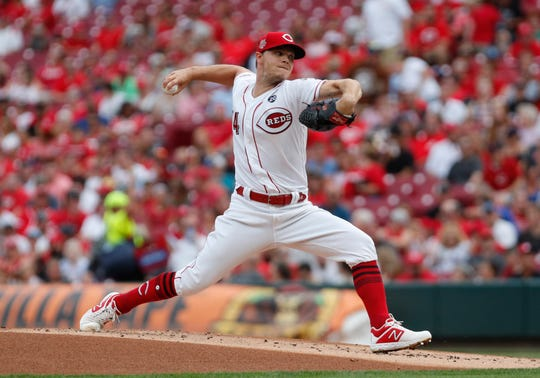 Reds starting pitcher Sonny Gray allowed just four hits and had 12 strikeouts against the Brewers on Wednesday night.