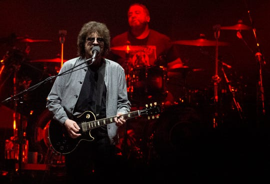 Jeff Lynne's ELO performs at Bridgestone Arena in Nashville, Tenn., Wednesday, July 3, 2019.