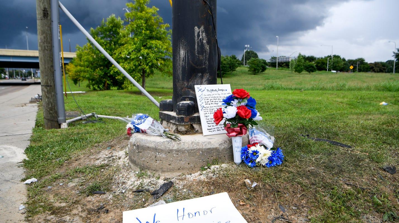 Nashville officer John Anderson killed in downtown crash