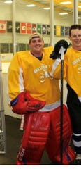 John Anderson, an officer with the Metro Nashville Police Department, was also a hockey player. He was the goalie for the Lipscomb Club Hockey team. He died Thursday, July 4, 2019 in a crash during his shift downtown.