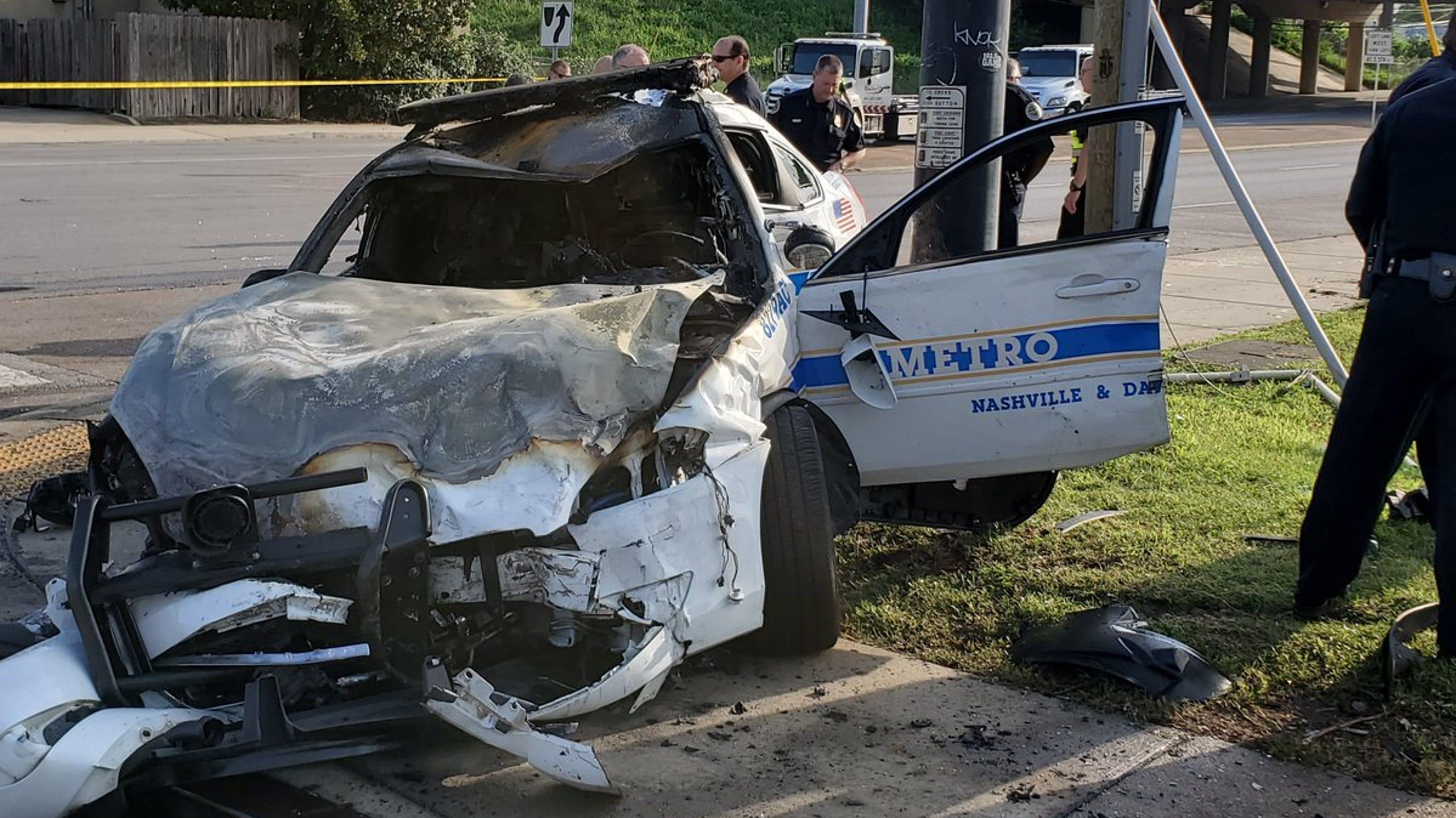 Passenger describes crash that killed MNPD Officer John Anderson