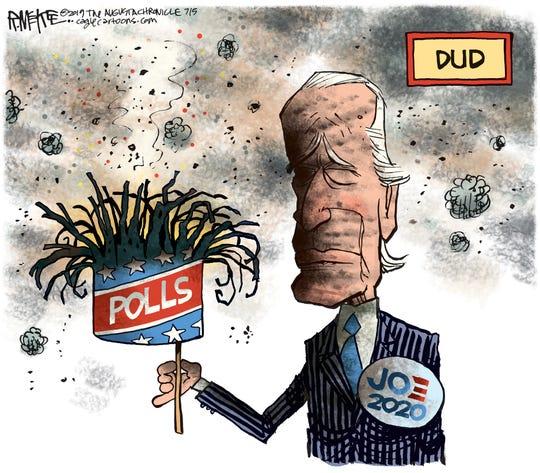Latest polls a dud for Biden.