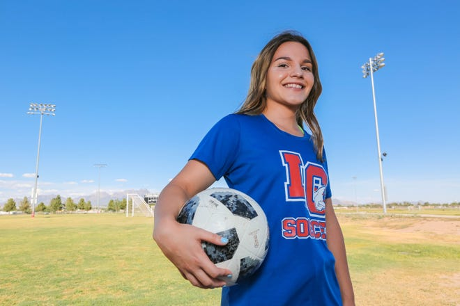 Taya Lopez, who signed to play college soccer at Texas Tech, is the 2019 Sun-News Female Athlete of the Year.