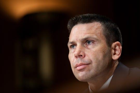 El secretario en funciones de Seguridad Nacional de EE.UU., Kevin K. McAleenan, comparece ante el Comité Judicial del Senado estadounidense en el Capitolio, Washington D.C (Estados Unidos).