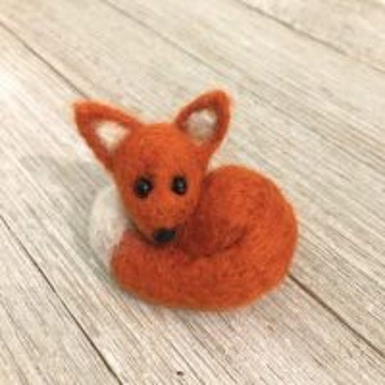 Make a felted fox July 13 at the Agricultural and Industrial Museum.