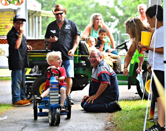 The 55th Annual Jacobus Fourth of July Blast at Jacobus Community Park in Jacobus, Thursday, July 4, 2019. Dawn J. Sagert photo