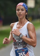 Bossier City resident Rachel Corigliano won the 35th Sportspectrum Firecracker 5k for a second consecutive year.