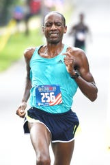 Baton Rouge resident Kevin Castille was the winner in the 35th Sportspectrum Firecracker 5k Race for Research. The ULL graduate set a course record in 14:24.2.