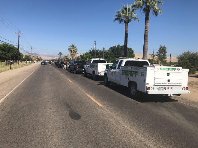 Tulare County sheriff's deputies are on the scene of a shooting in Orosi. Deputies say a 14-year-old child was shot during an argument on Wednesday, July 3, 2019.