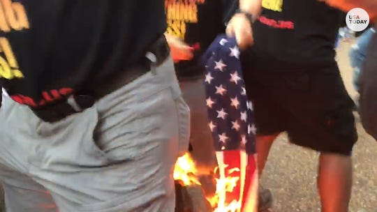 Far-right extremists Proud Boys outnumbered by counter-protesters at Washington, DC, rally