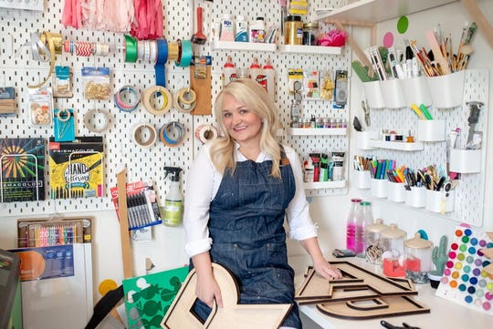 Some days, Jo Gick says she fills orders in her shop and makes things she loves to do.