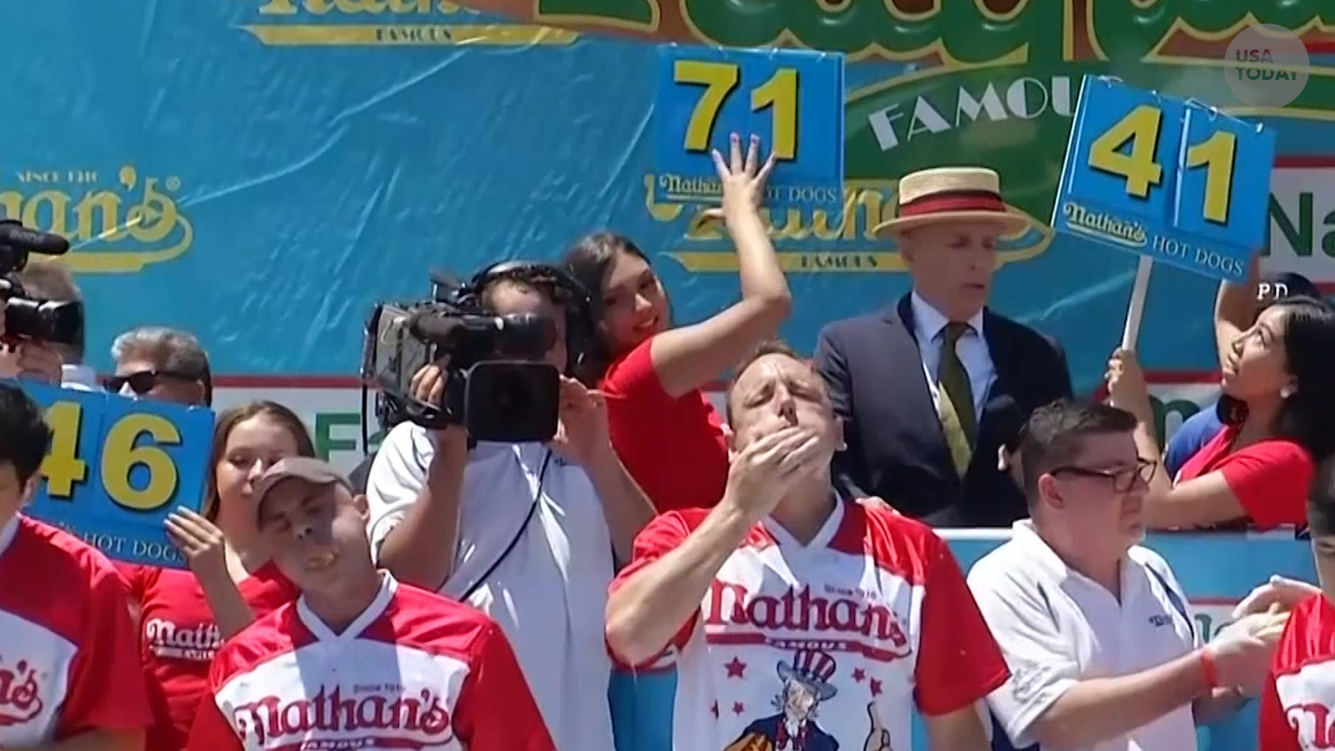 Nathan's Famous Hot Dog Eating Contest is coming back to the Iowa State Fair