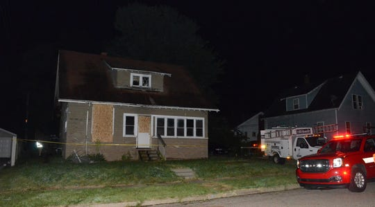 Battle Creek firefighters are investigating the cause of a fire at 10 Oneita St. late Thursday,