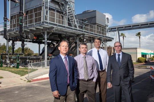 The new cooling tower at Cape Canaveral Hospital will allow the facility to keep its air conditioning on during a hurricane, even if the building has been evacuated.
