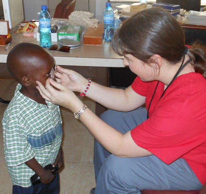 Dr. Christina Fox has gone on 14 mission trips to Guatemala, Haiti, Romania, Ecuador,El Salvador and other countries. She will participate in her 15th trip in January, this time heading to Mexico.