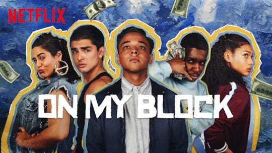 "Netflix's ""On My Block"" follows four smart, funny and stretwise teens find their lifelong friendship as they begin high school in a rough inner-city Los Angeles neighborhood."