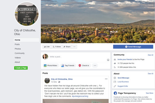 City considering legal action over a 'fake' Facebook page
