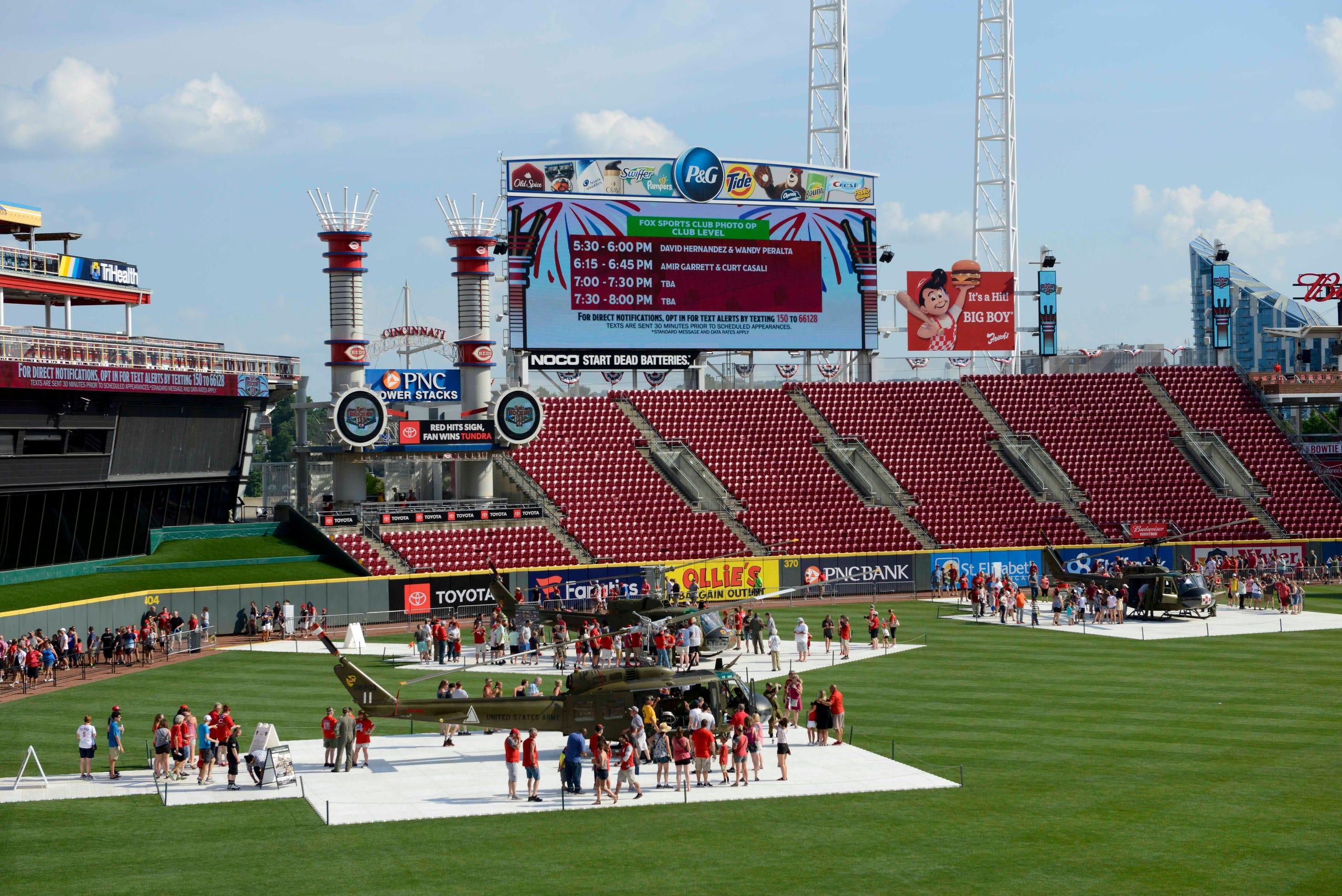 Photos: Cincinnati Reds Rockin' 150 Birthday Bash at Great