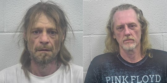 James William  Flannery and Mark A. Roark were arrestedJuly 4, 2019, at a house in the 500 block of Linden Street, Ludlow, after a SWAT situation.