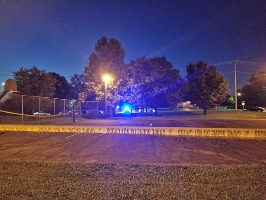 Police say a 23-year-old man died after being shot multiple times at a basketball court in Clarksville off of 8th Street.
