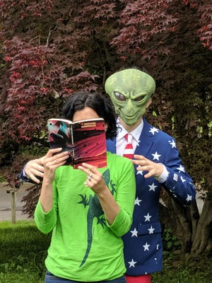"""Books come to life in this summer's """"A Universe of Stories"""" Adult Reading Club, fully funded by the Friends of the Hunterdon County Library."""