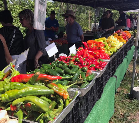Nearly two dozen vendors sell their fresh fare at Duke Farms' Farm Market from 10 a.m. to 3 p.m. Sundays through Oct. 27.