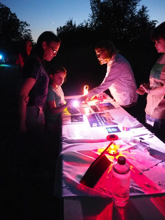 Visitors can enjoy learning about fireflies during Duke Farms' annual Firefly Festival on July 12 and 13.
