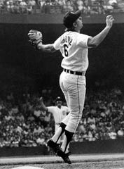 """Al Kaline, born Dec. 19, 1934 in Baltimore, Maryland, is most known as """"Mr. Tiger"""" and his 22 years playing for the Detroit Tigers. Kaline was inducted into the Baseball Hall of Fame in 1980."""
