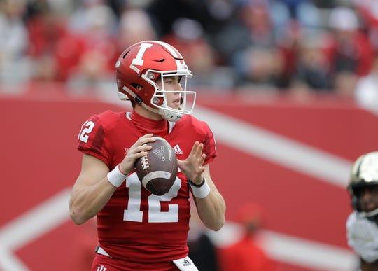 Indiana quarterback Peyton Ramsey