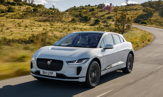 While the Jaguar I-Pace SUV, shown, its first all-electric car, is being made in Austria, the company is retooling part of its Solihull plant, also in the English Midlands, to make electric versions of Land Rover's top-end Range Rover models.