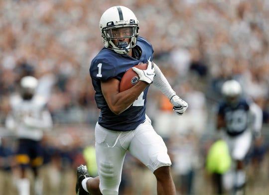 Penn State receiver KJ Hamler