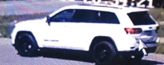 The Jeep was last seen driving south on Lahser.