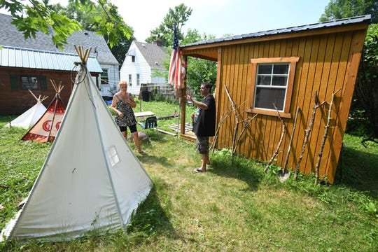 """""""We will be making crafts with visitors, telling stories and they can even picnic on our lawn,"""" Pustelak said."""