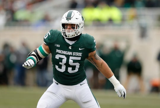 Michigan State linebacker Joe Bachie